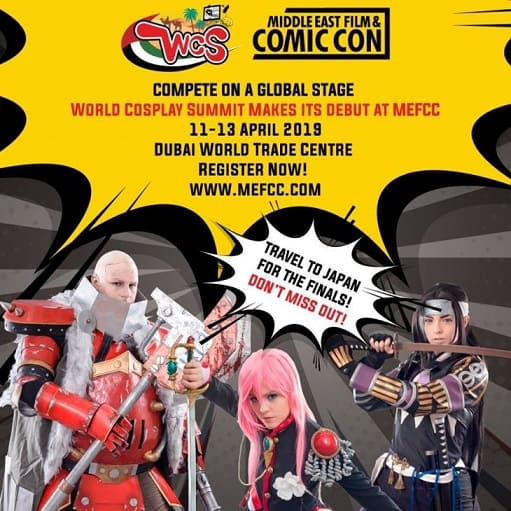 ​Middle East Film and Comic Con 2019
