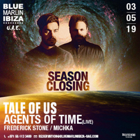 Season Closing, Tale Of Us and Agents Of Time (Live)