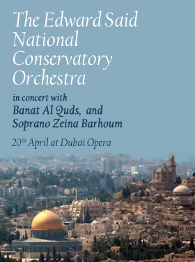 Edward Said National Conservatory Orchestra in Concert