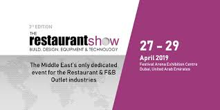 ​The Restaurant Show Middle East 2019