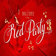 Nikki Beach Dubai Red Party