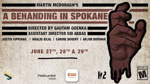 'A Behanding in Spokane' Play