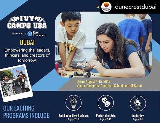 Ivy Camps USA in Dubai