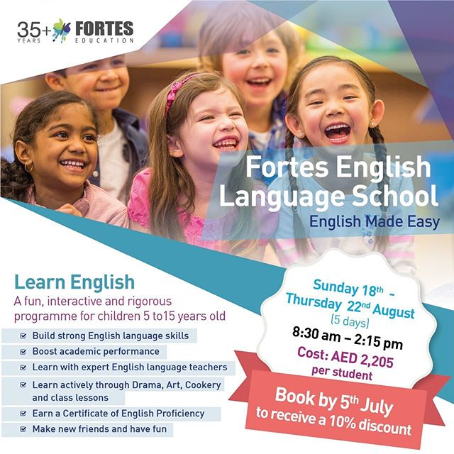 Fortes English Language Summer Camp