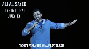 English Stand-Up with Ali Al Sayed