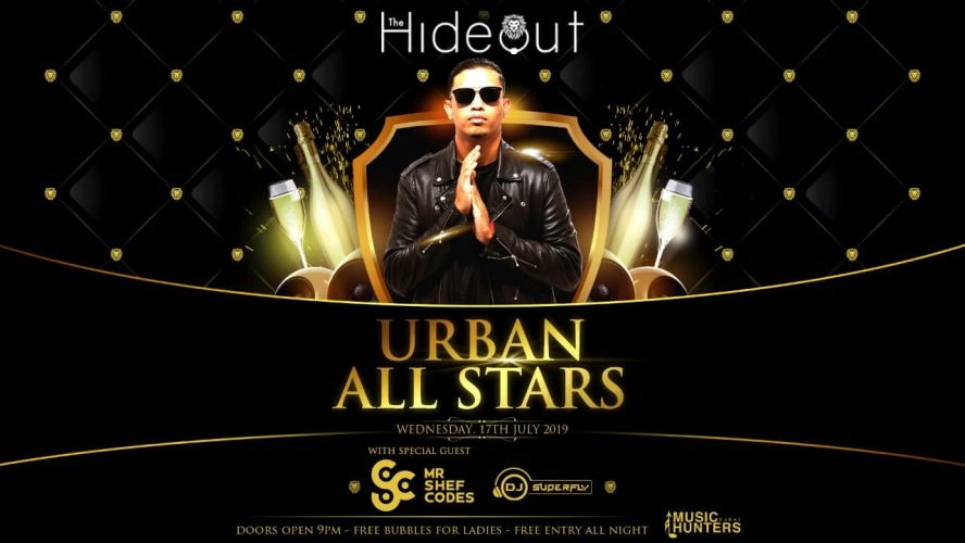 Old school RnB & Hip Hop at Hideout Dubai