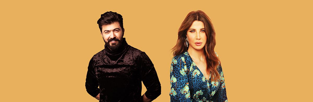 Nancy Ajram and Saif Nabeel Live