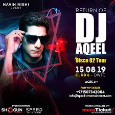 Celebrity DJ Aqeel to Perform in Dubai After 10 Years!