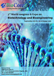 3rd World Congress -Biotechnology and Bioengineering
