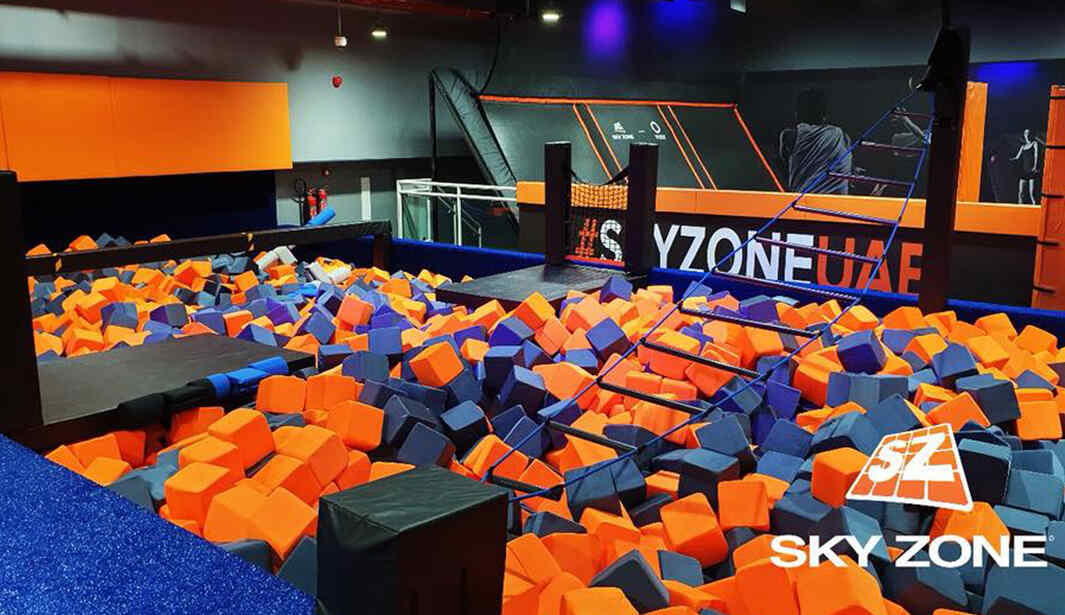 Blow off steam at Sky Zone