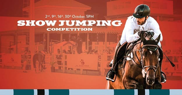 AHPRC Showjumping Competitions - October 2019