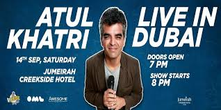 Atul Khatri at Jumeirah Creekside Hotel