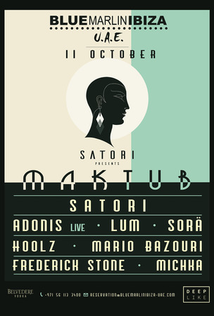 Maktub by Satori with Adonis (Live), Lum, Sora and more