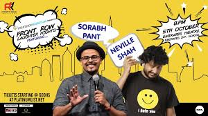 Neville Shah and Sorabh Pant Live