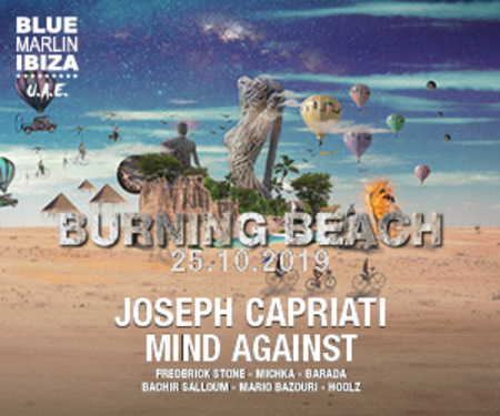 Burning Beach with Joseph Capriati and Mind Against