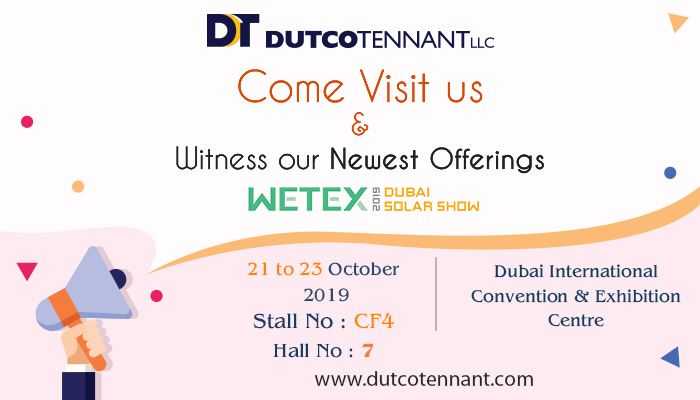 Witness Dutco Tennant's newest launches @ WETEX 2019