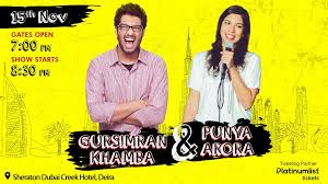 Gursimran Khamba and Punya Arora Live in Dubai