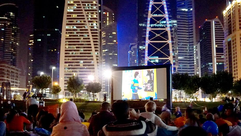 JLT Cinema Under The Stars