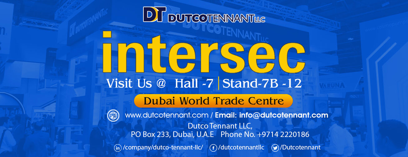 Dutco Tennant's firefighting range @INTERSEC 2020