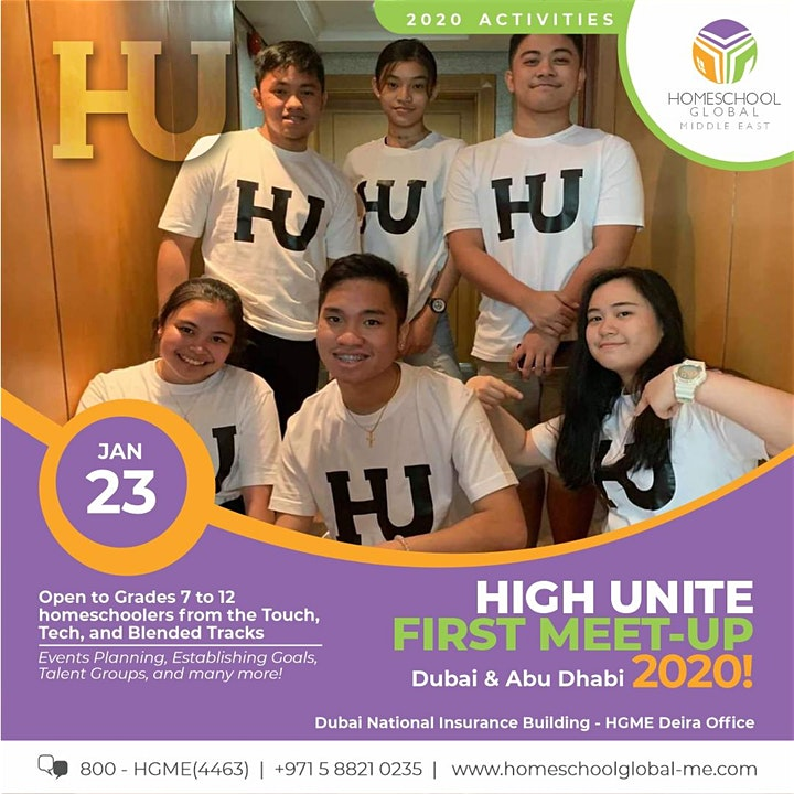 HIGH UNITE First Meet Up 2020 - Dubai & Abu Dhabi