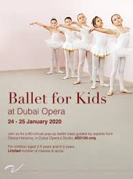 Ballet for Kids at Dubai Opera