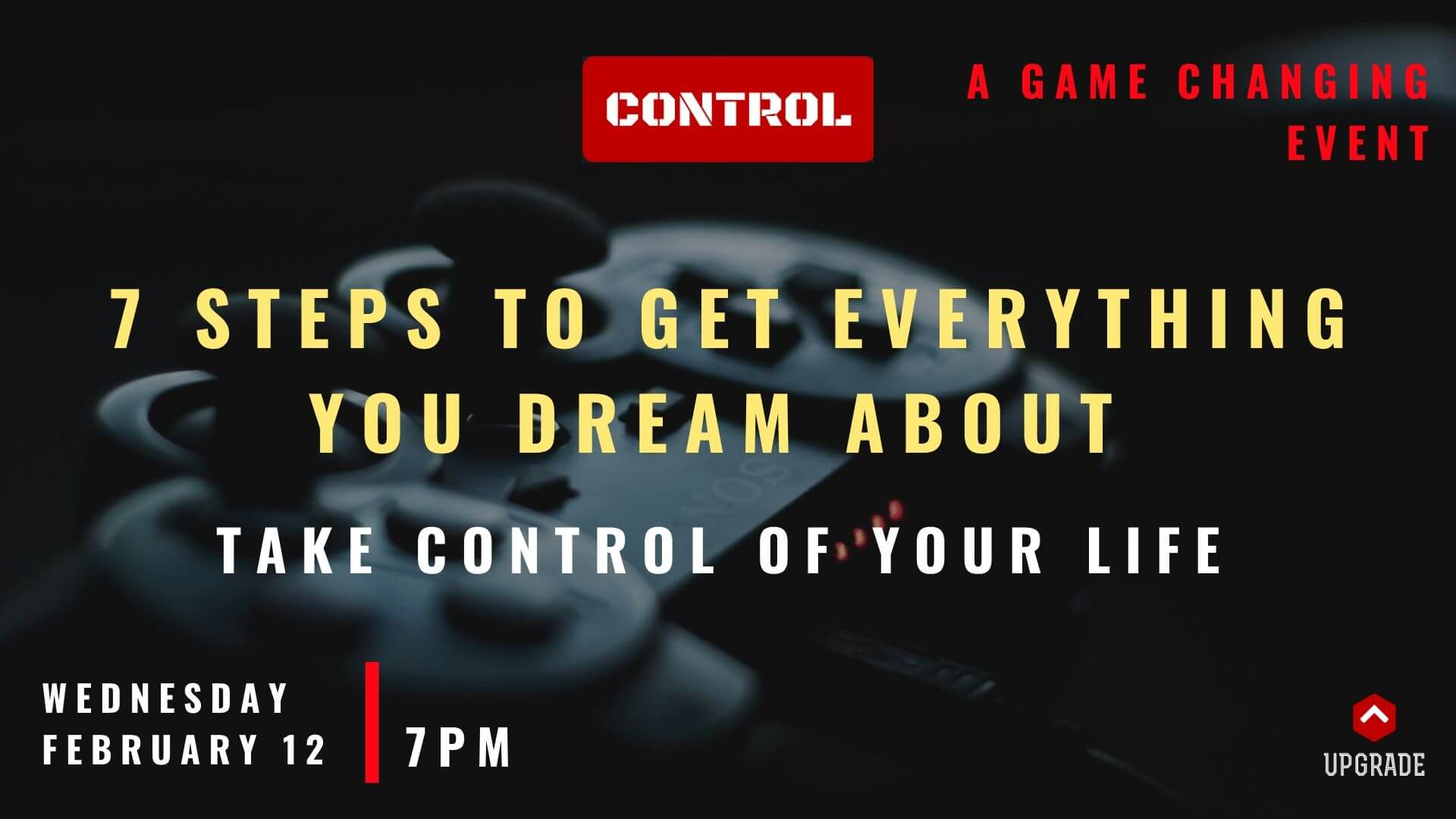 Game Changing Event - CONTROL