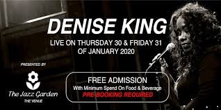 The Jazz Garden with Denise King
