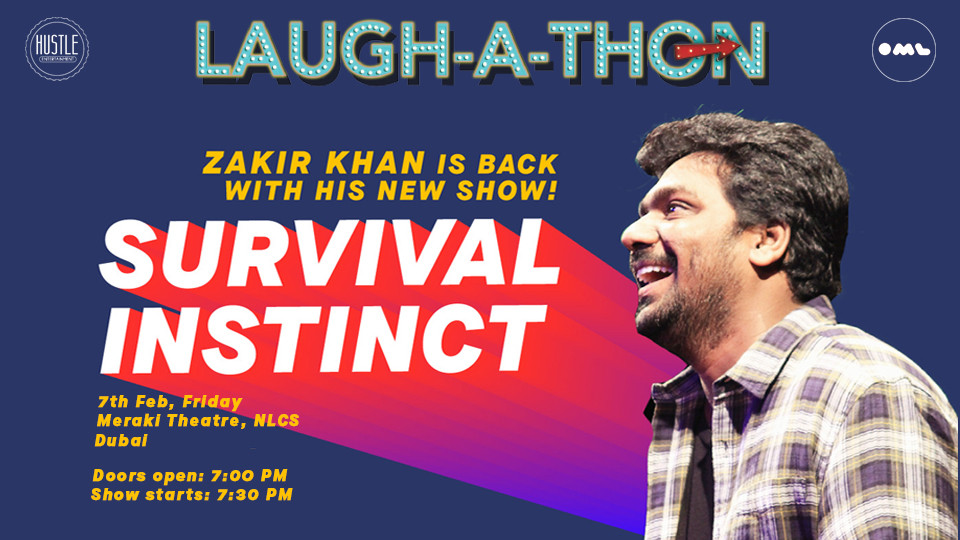 Laugh-a-thon with Zakir Khan