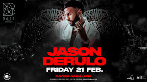 Jason Derulo at BASE Dubai