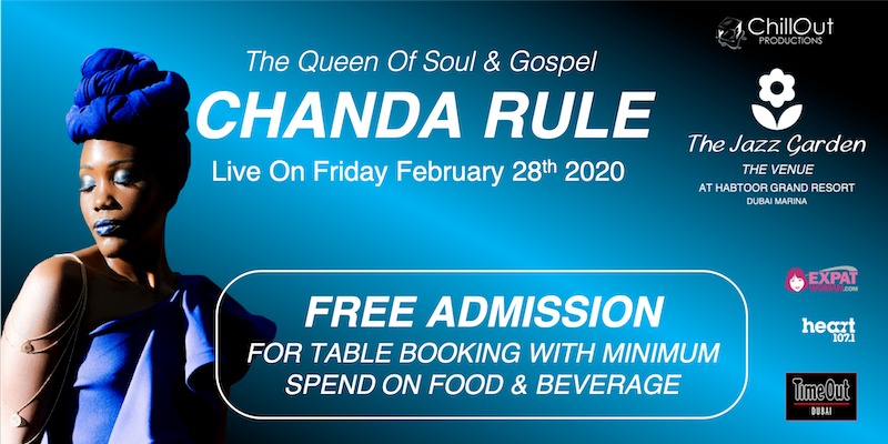 Chanda Rule at The Jazz Garden