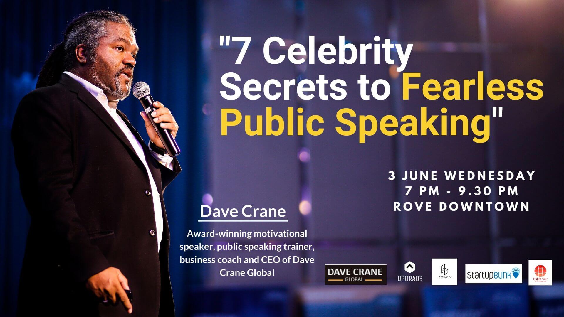 7 Celebrity Secrets to Fearless Public Speaking