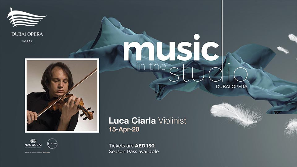 Music in the Studio: Luca Ciarla