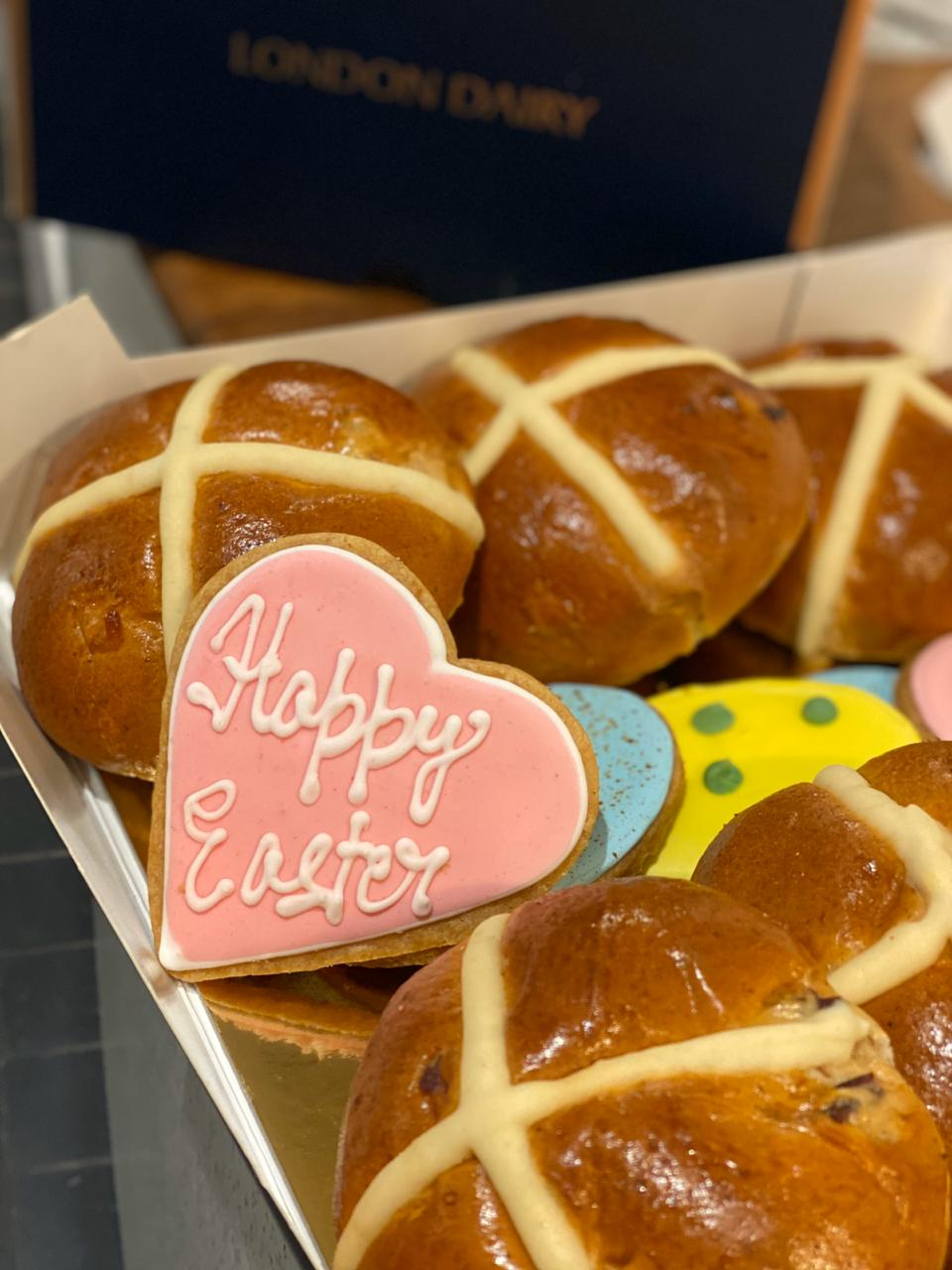 Free Easter cookies at London Dairy Cafe