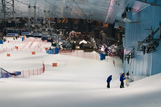 Skiing resumes in Dubai as restrictions are lifted