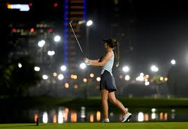 Golf Stars come out for Omega Dubai Moonlight Classic