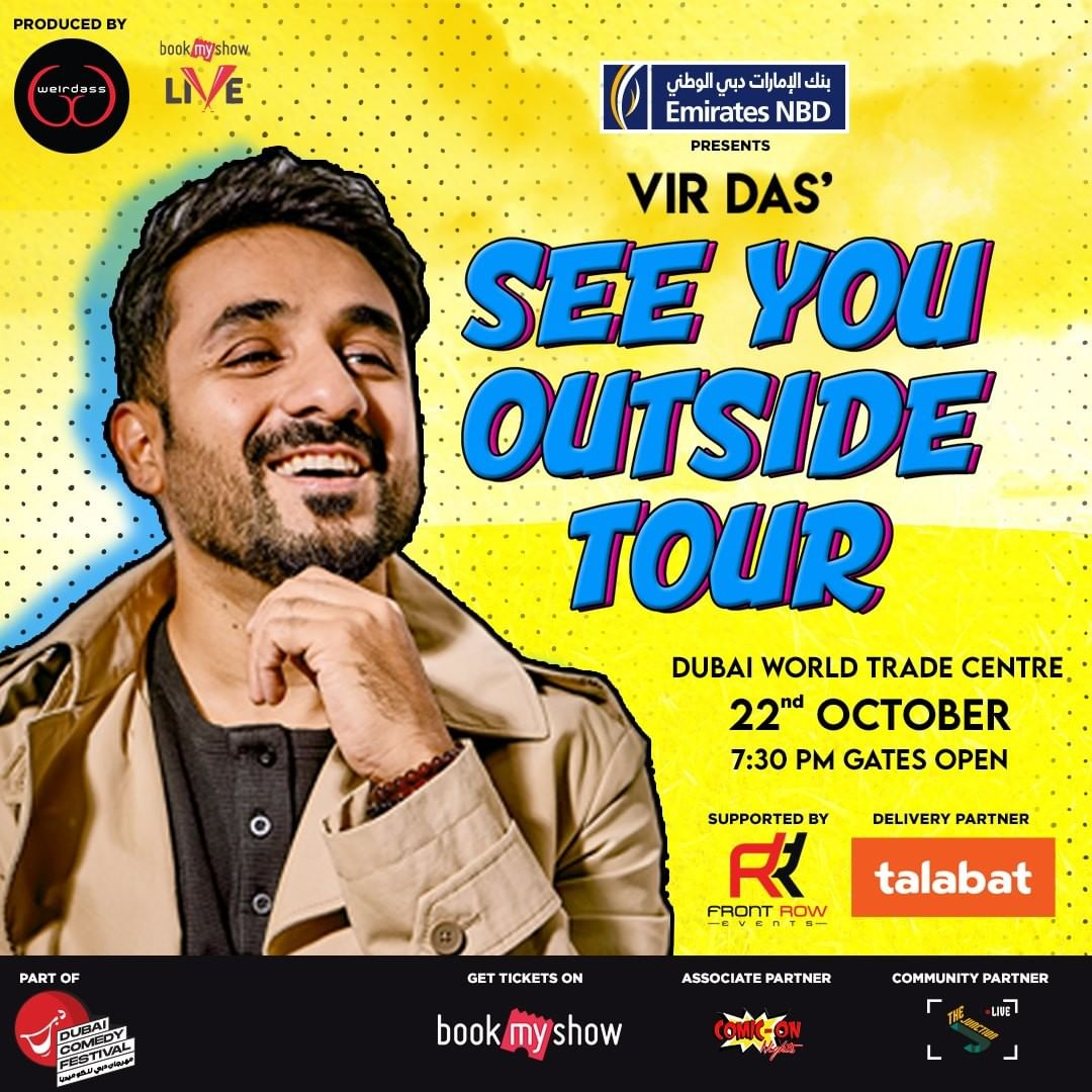Indian comedian Vir Das to stage stand-up show in Dubai