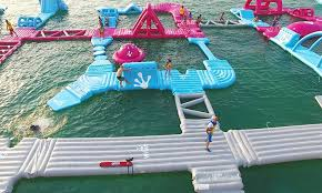 Inflatable Aquapark challenge in DFC 2020