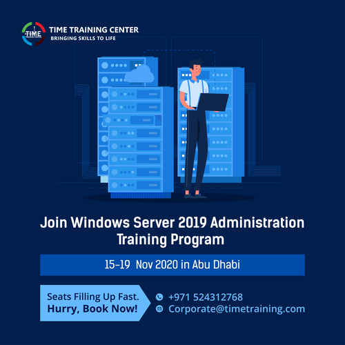 Join Our 5 Days Training program on Windows Server 2019