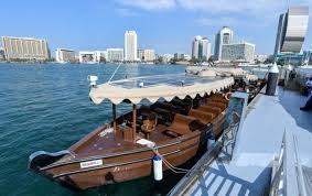 Dubai unveils upgraded traditional wooden abras