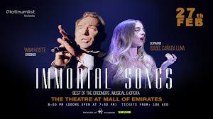 Immortal songs, a show of classics, comes to Dubai