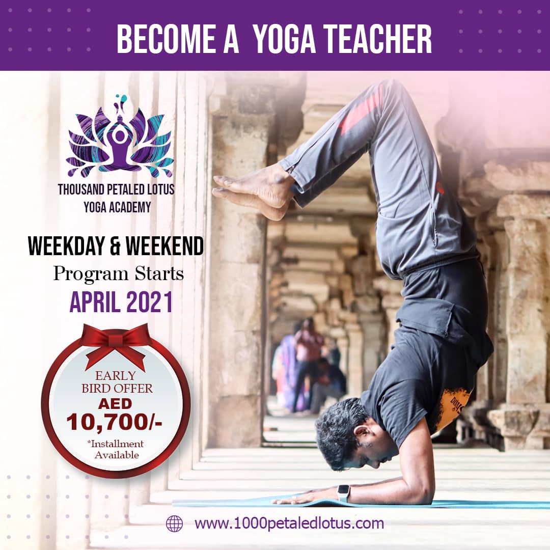 RYT200 Yoga Teacher Training in Dubai