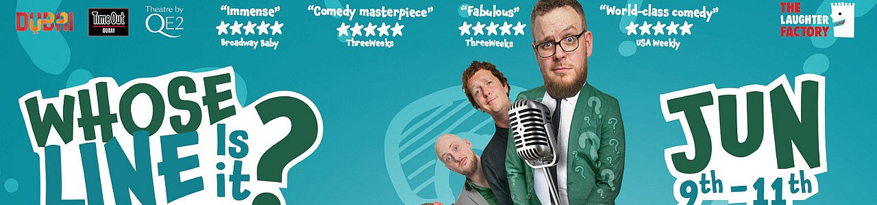 Whose Line Is It? - The Noise Next Door - Rescheduled