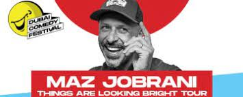 Maz Jobrani at Dubai World Trade Centre