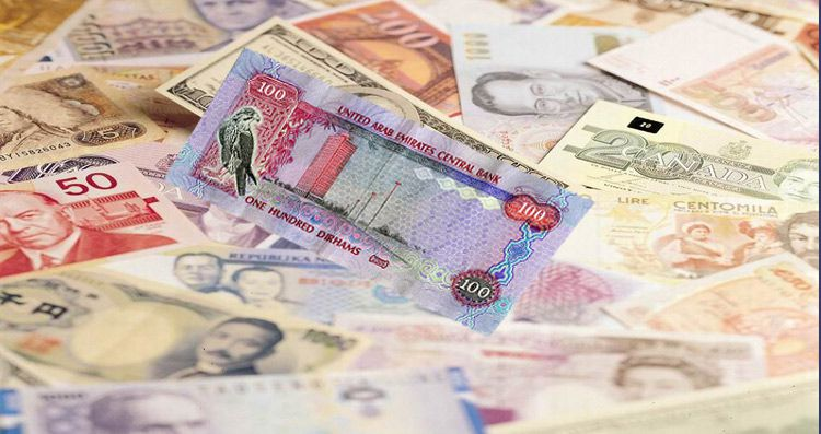 UAE Currency converter Dirhams AED
