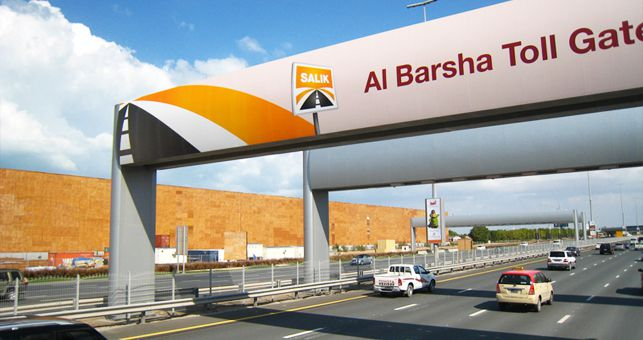 Salik Road Toll System in Dubai