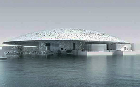 French Louvre Museum Abu Dhabi