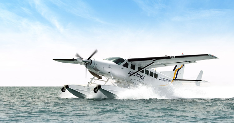 Sea Plane Tours in Dubai