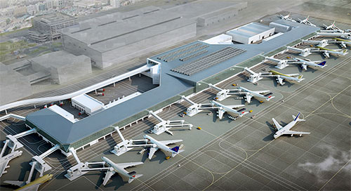 Concourse D facility of Dubai International Airport nears completion