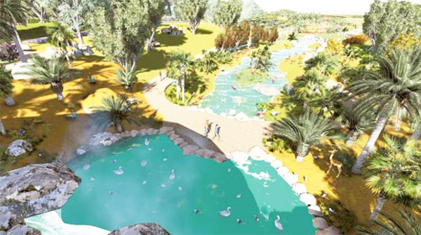 Dubai Safari Park almost ready for public view