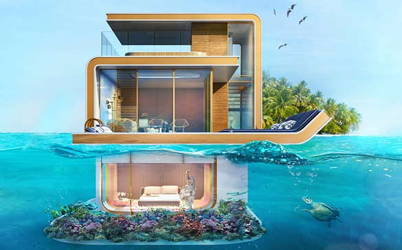 Floating Seahorse Luxury Villas to be ready by year-end